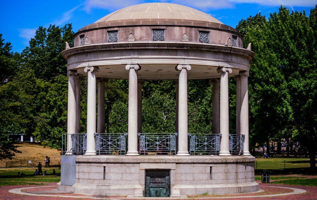 Parkman Bandstand Monument