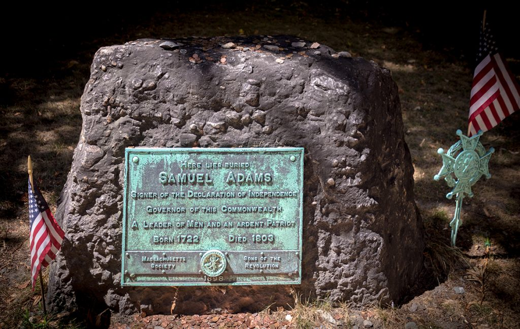 Samuel Adams Tombstone