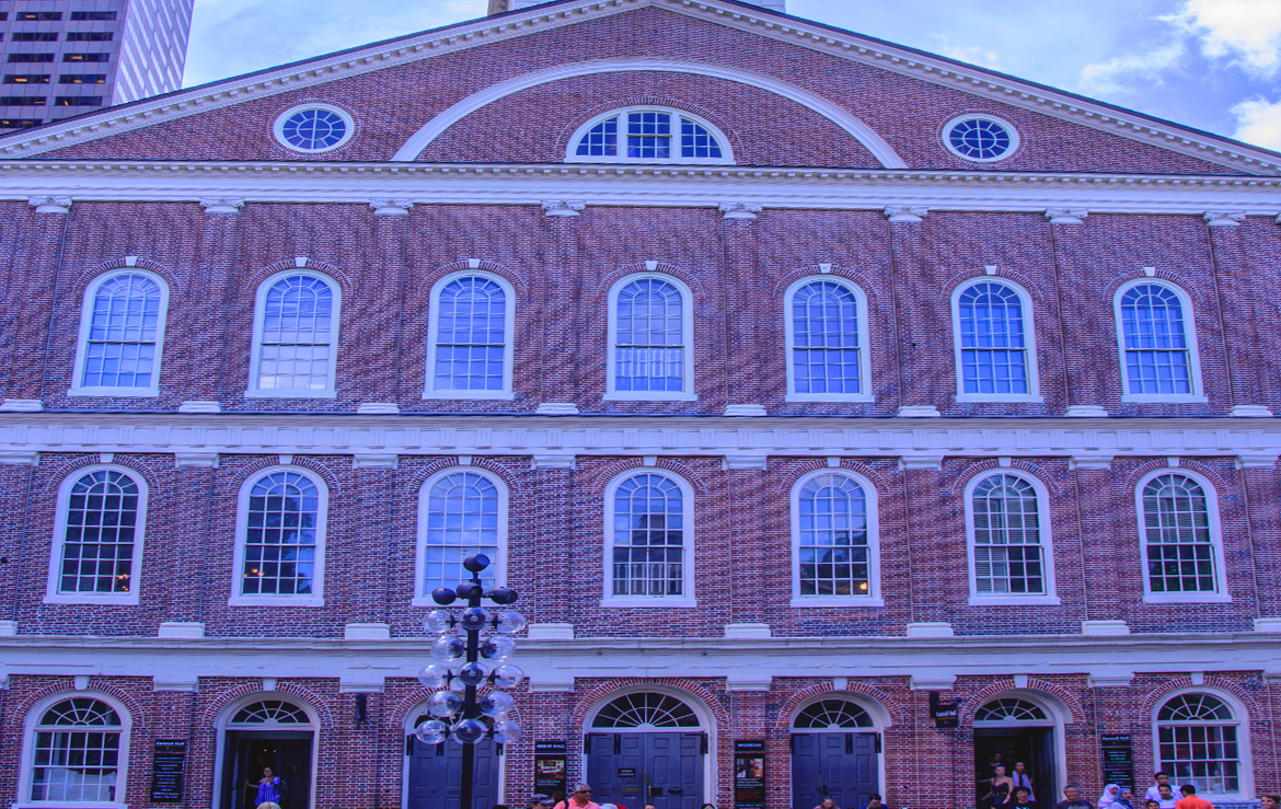 Faneuil Hall Main Entrance